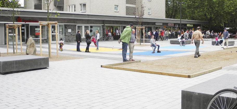 Honschaft-Rath-Platz in Krefeld